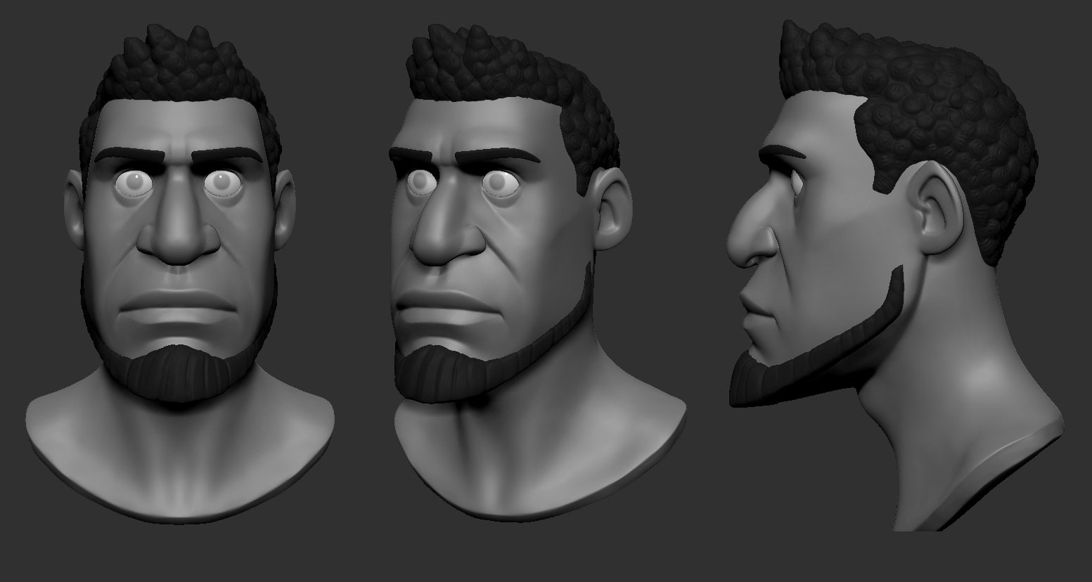 "Character model from ""Substance."""