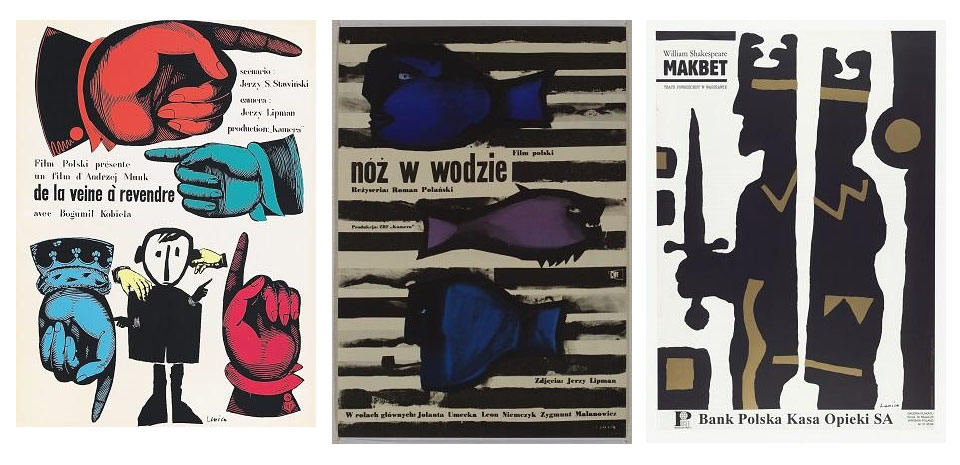 Posters by Jan Lenica.
