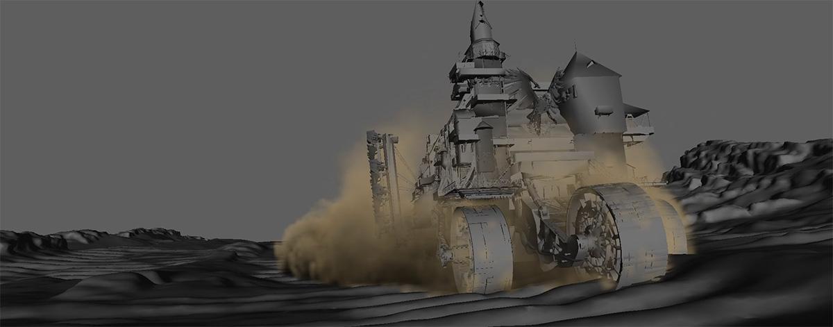 Mortal Engines': How On Earth Do You Animate A Massive