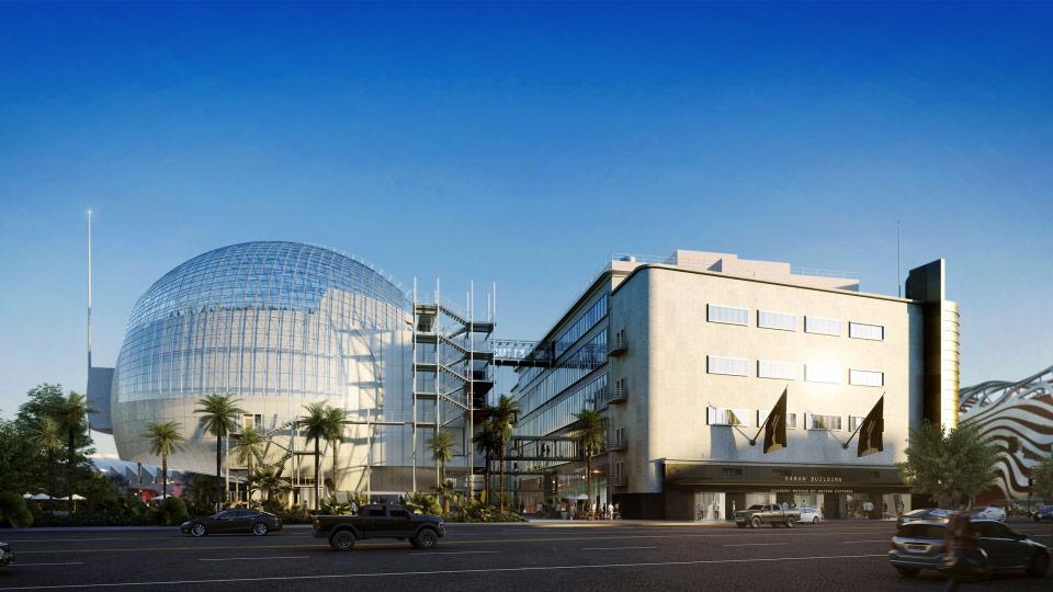 Academy museum.