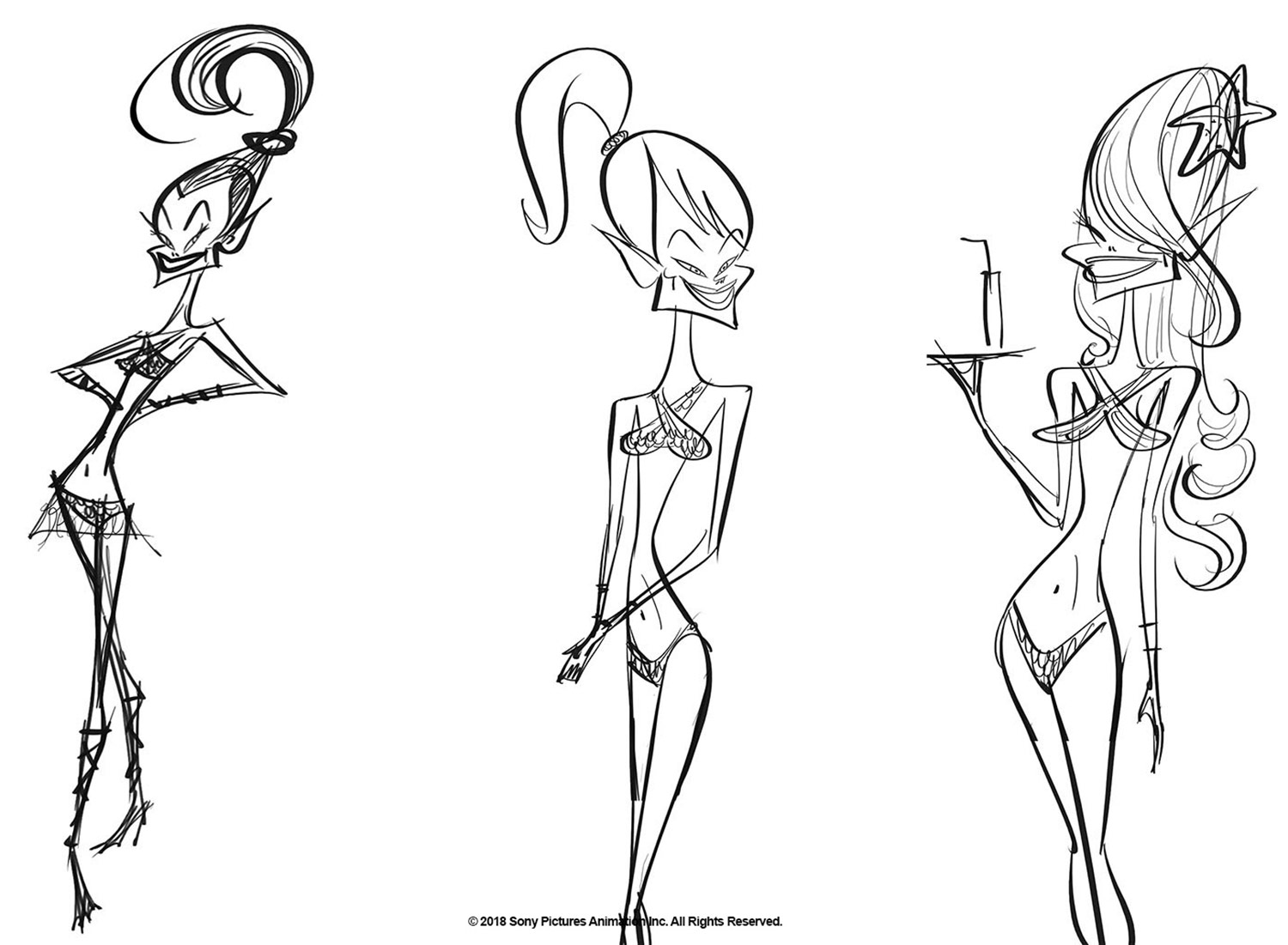 Atlanteans character concepts by Craig Kellman.