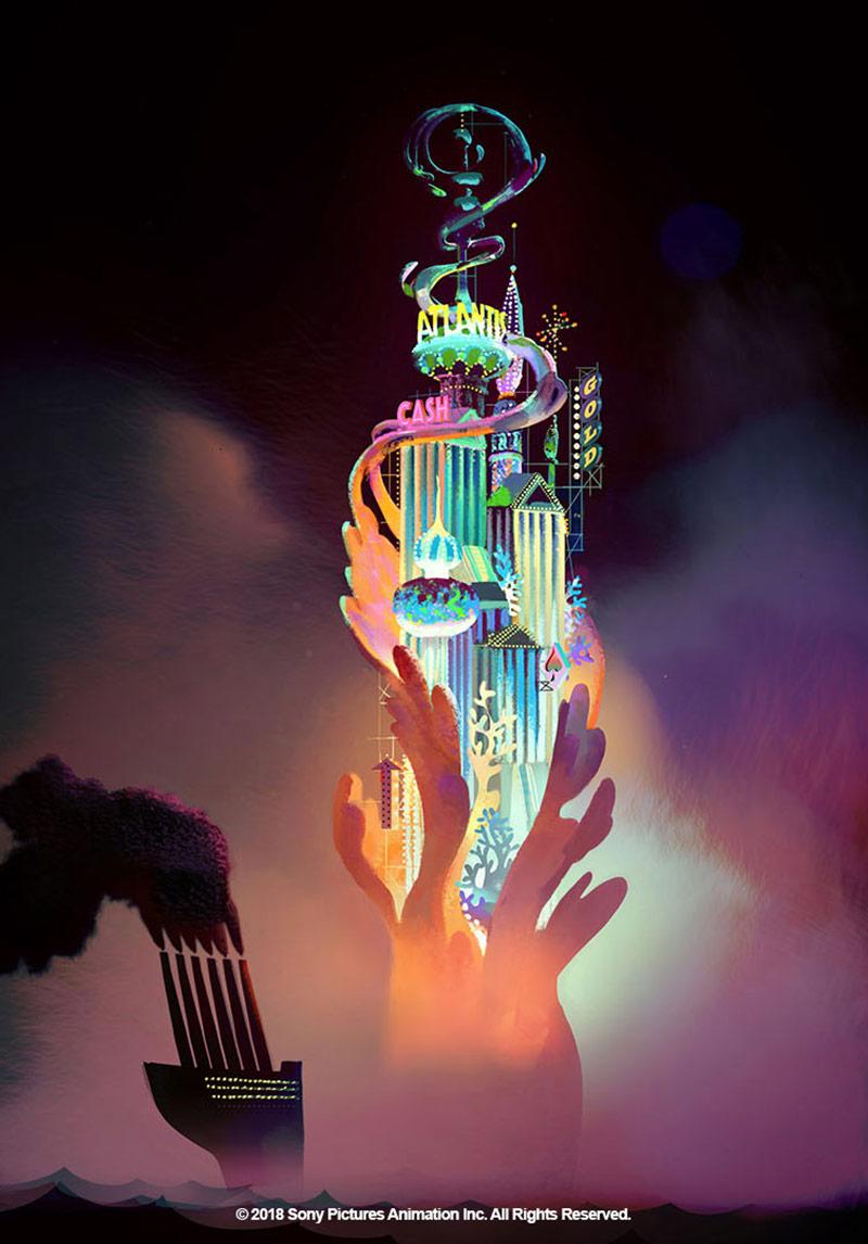Atlantis concept by Aurelien Predal.