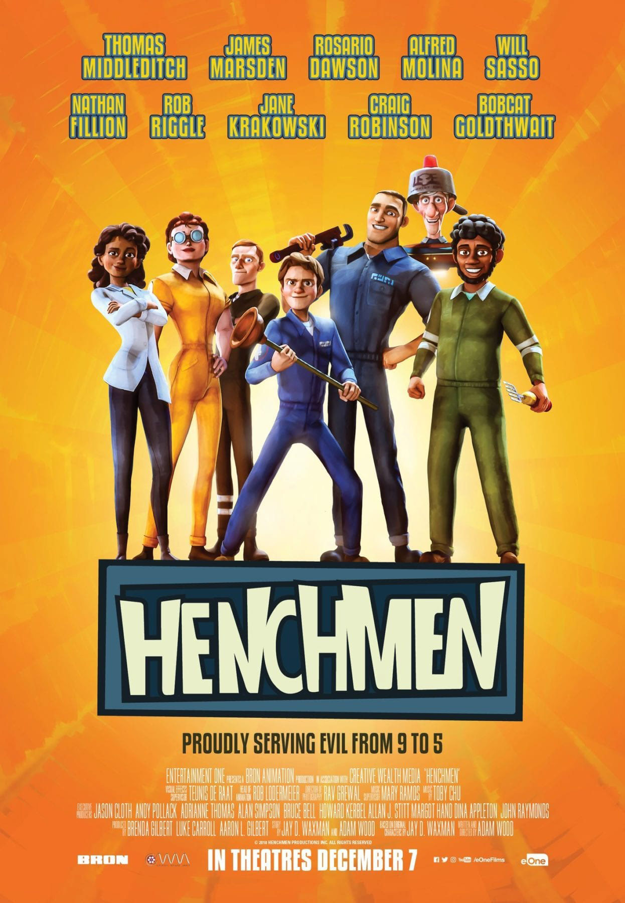 """Henchmen"" poster."