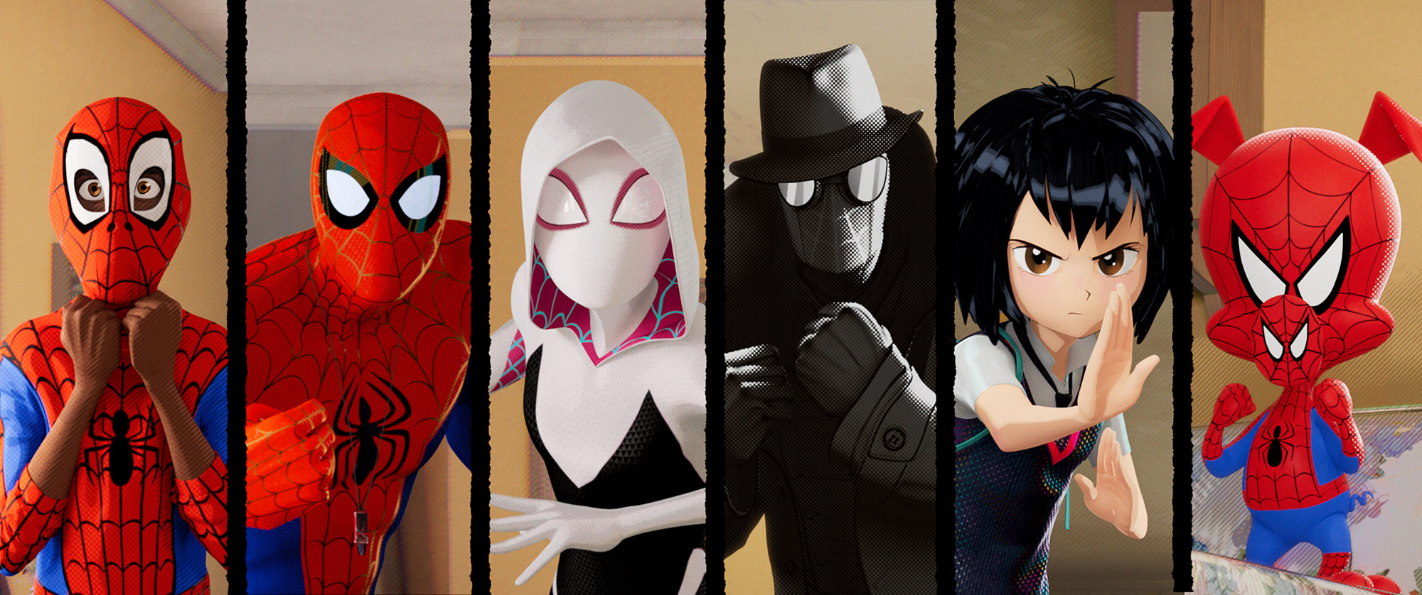 "The various  Spider-People are ""a celebration of all the different types of comic books, and how they all inform this Spider-Verse that Miles is a part of,"" says Thompson."