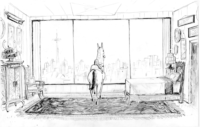 Background layout drawn by Trevor Jimenez.