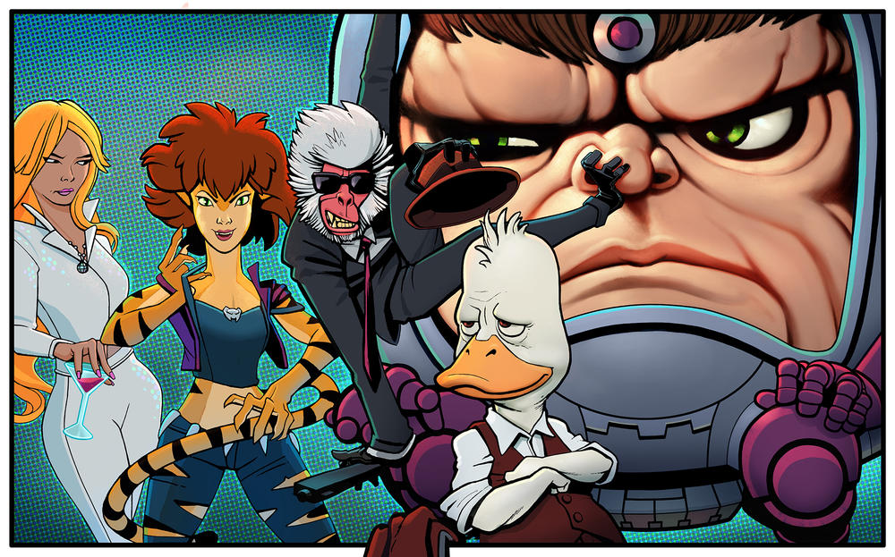 Tv Roundup New Series For Hulu Netflix Cartoon Network