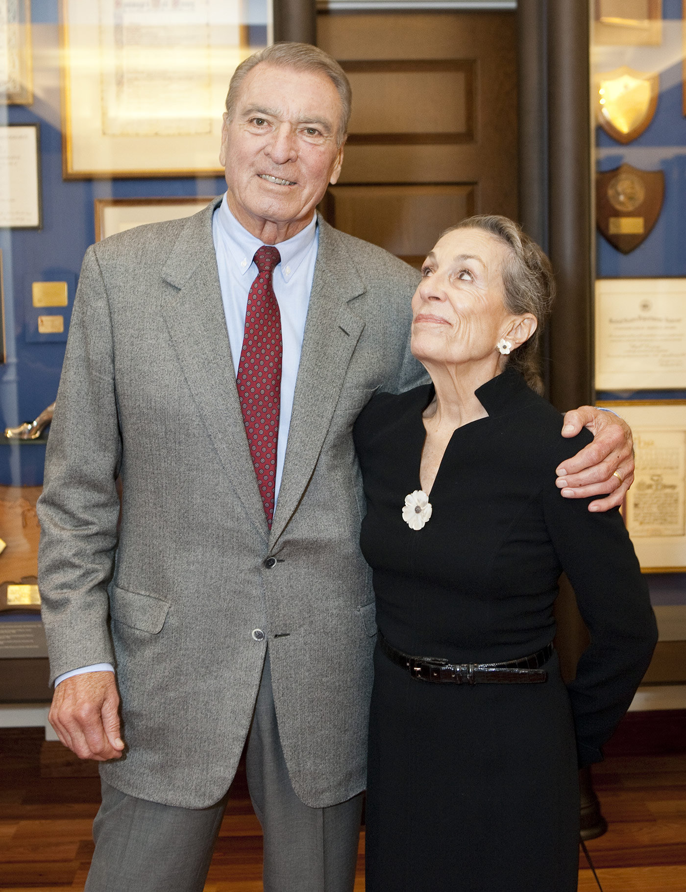 Ron MIller and Diane Disney-Miller at the opening of The Walt Disney Family Museum in 2009. Photo courtesy of The Walt Disney Family Museum.
