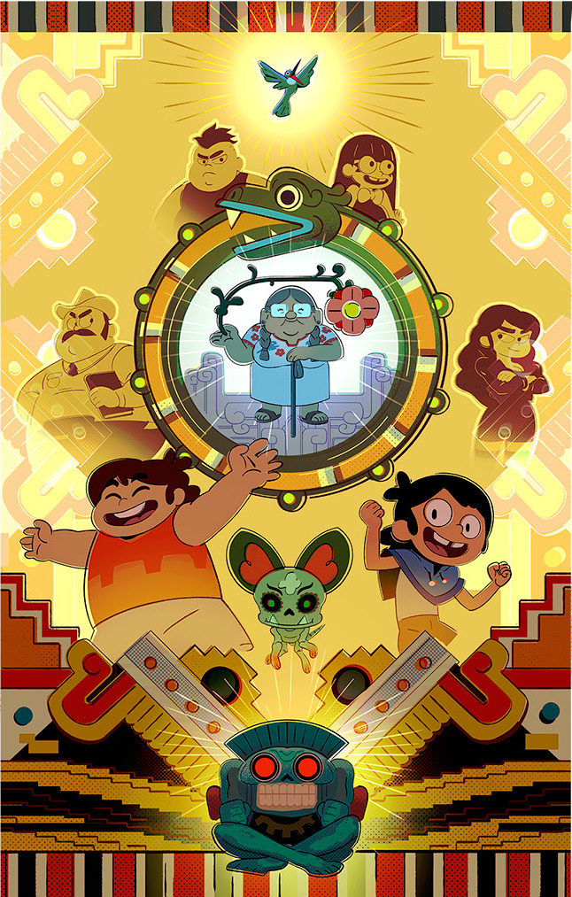 Poster created for Cartoon Network Studios lobby.