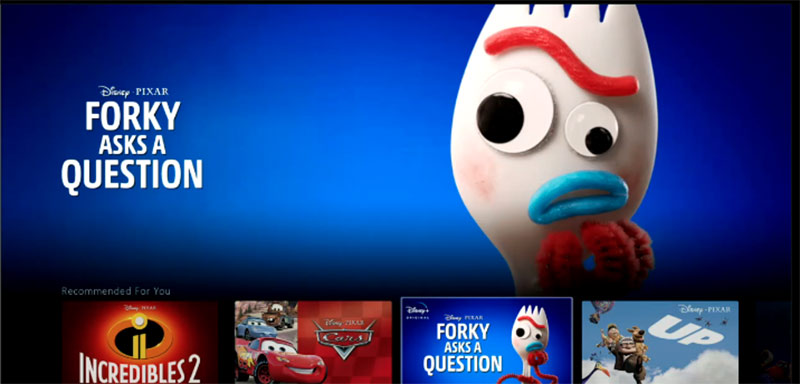 """Forky Asks a Question"" will be a new series on Disney+."