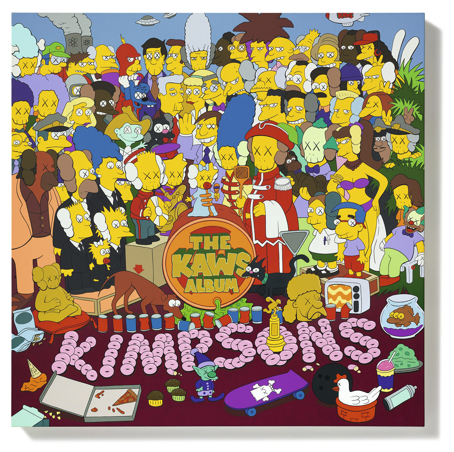 The KAWS Album.