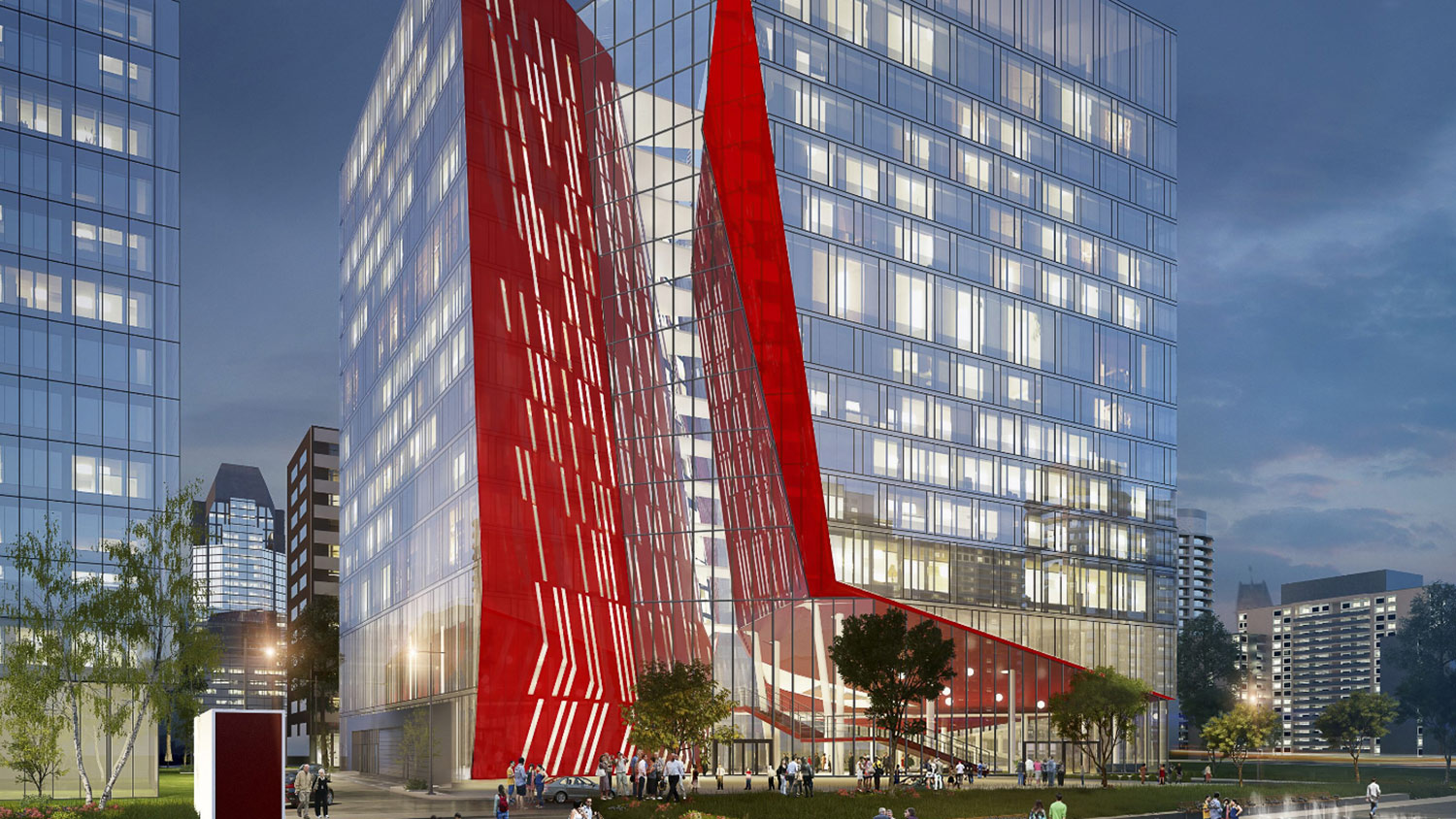 The new NFB building in downtown Montreal, which will open later this year.