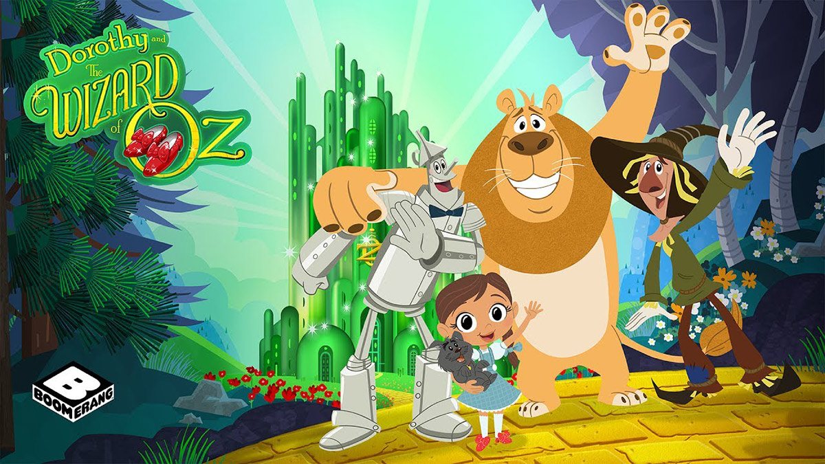 "Boomerang's ""Dorothy and the Wizard of Oz"" is among the shows animated at Big Jump Entertainment."