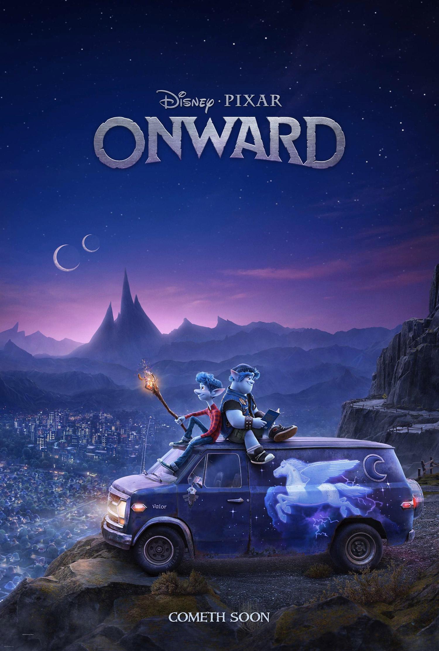"""""""Onward"""" poster."""