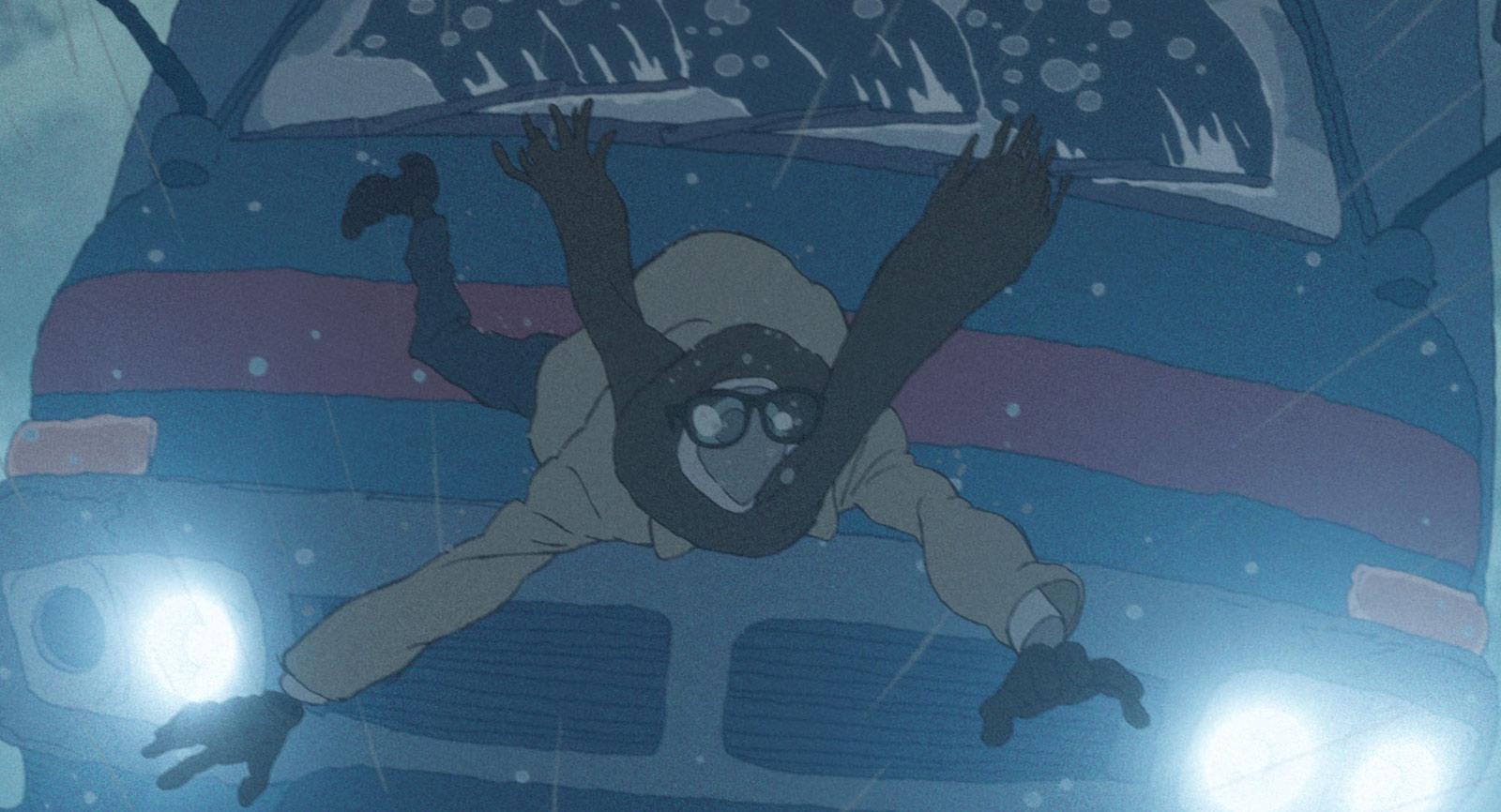 "Akihiko Yamashita's ""Invisible"" segment from ""Modest Heroes."""