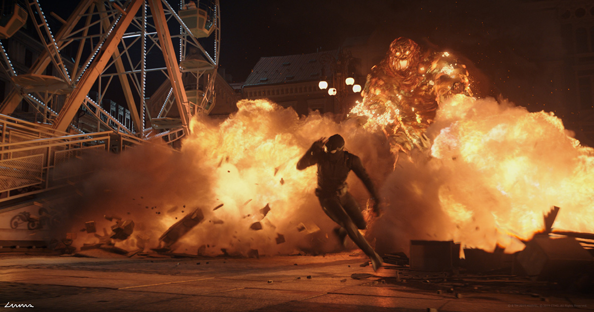 Spider-Man Far From Home': How Do You Animate a Fiery Creature…That