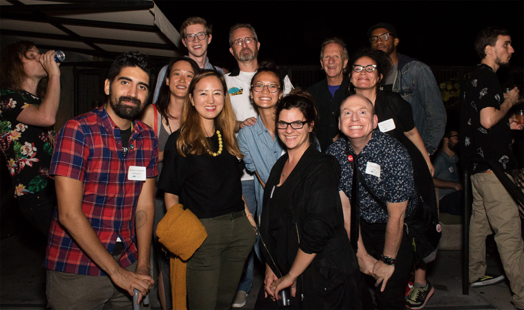 SVA staff and alumni at 2017 SIGGRAPH party.