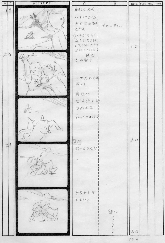 Isao Takahata exhibit.