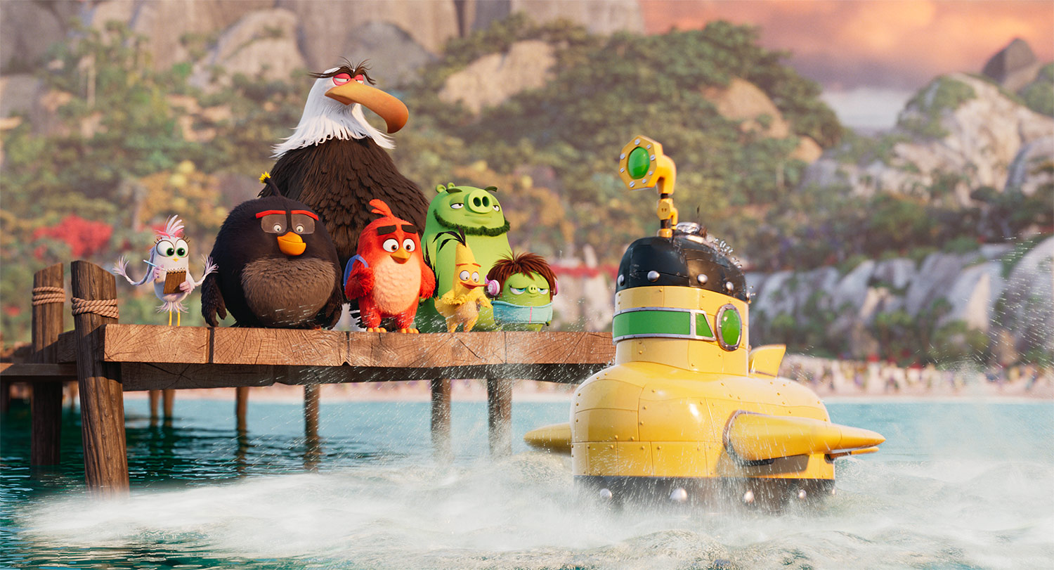 """The Angry Birds Movie 2."""