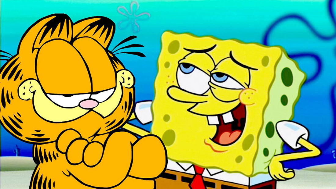 A Garfield Spongebob Crossover Just Became Possible