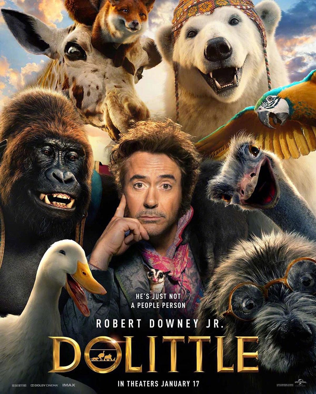 """Dolittle"" poster."