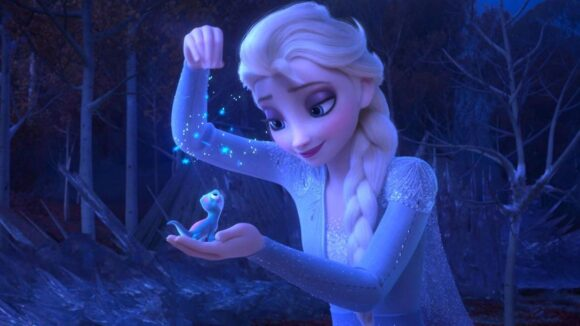 Frozen 2: Elsa and the salamander