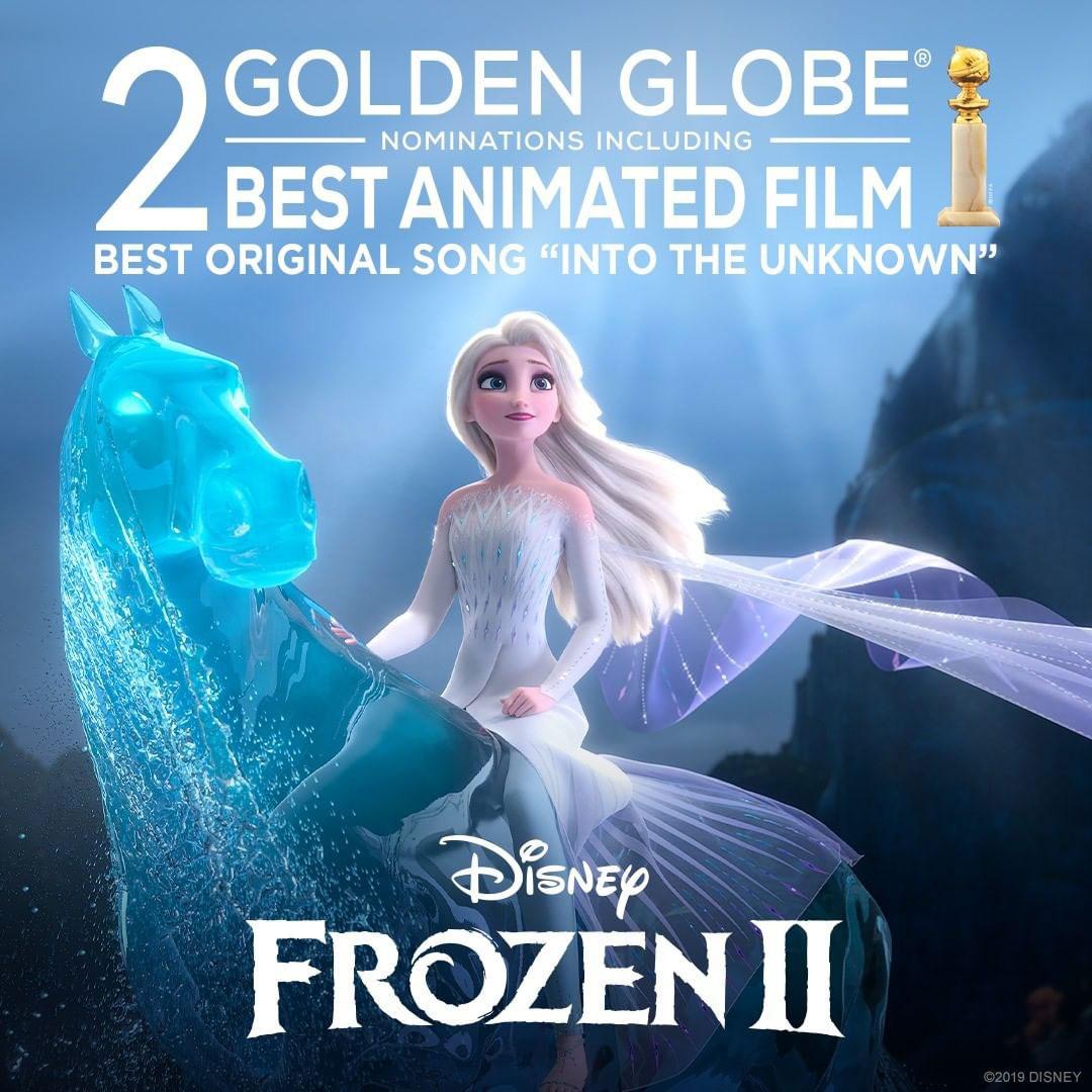 Frozen II Golden Globe nomination.