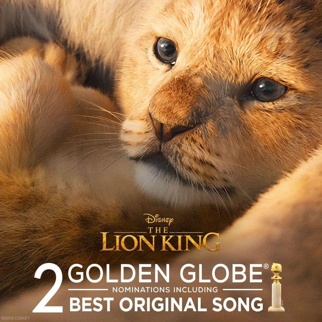 The Lion King Golden Globe nomination