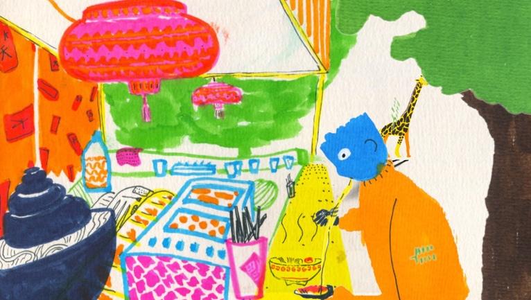 """""""Flamingo"""" by Sushijojo"""
