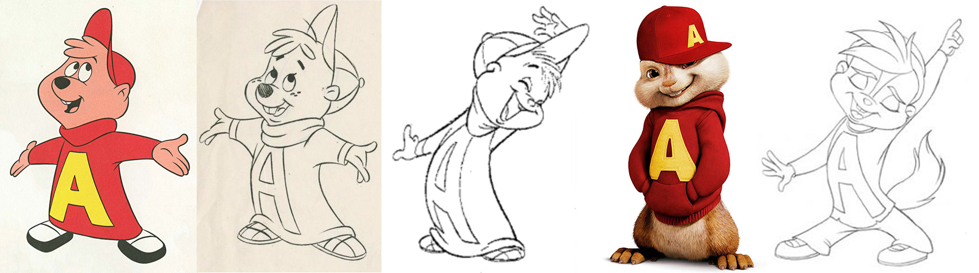 Depending on your point of view, Alvin's design has either evolved or devolved through the years.
