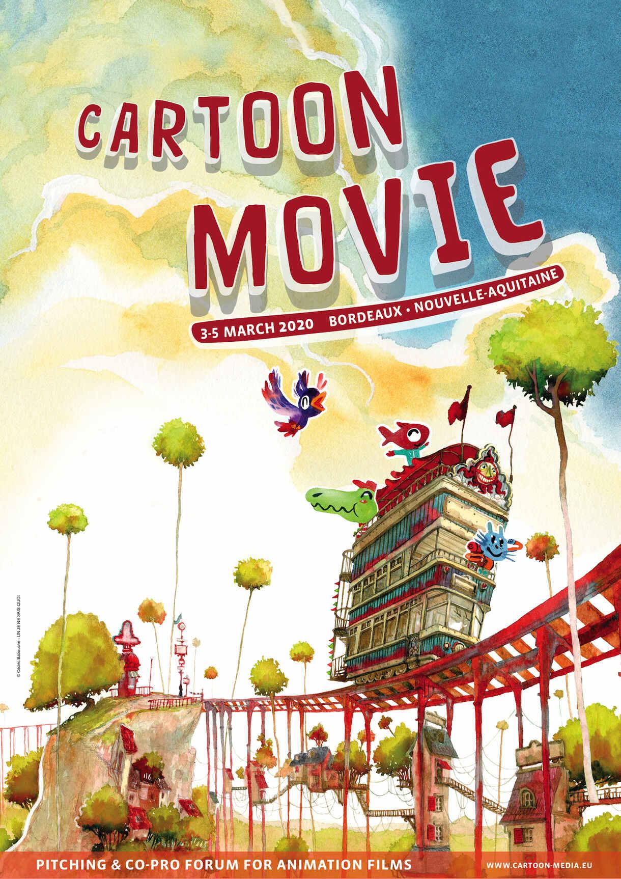 Cartoon Movie 2020 poster