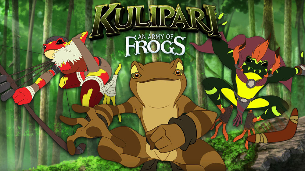 "Cartoon Conrad provided animation services for the Netflix series ""Kulipari."""