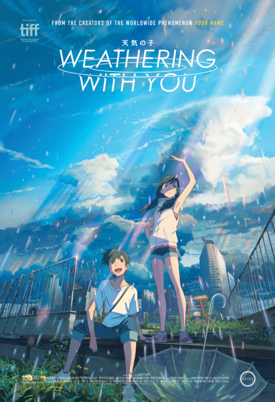 """Weathering with You"" poster"
