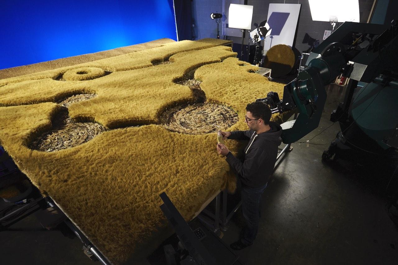 """A Shaun the Sheep Movie: Farmageddon""—set"