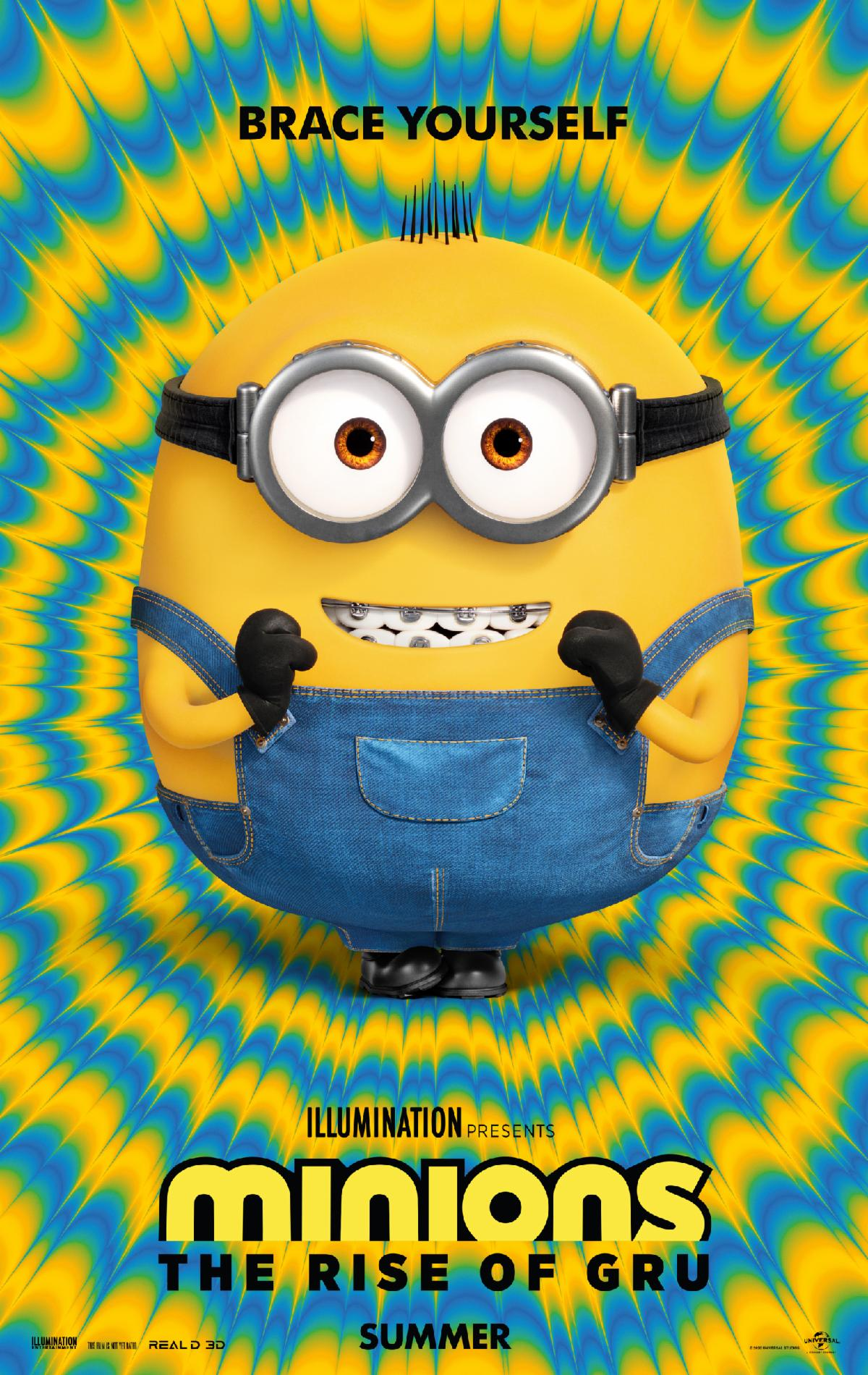 """Minions: The Rise of Gru"" poster"
