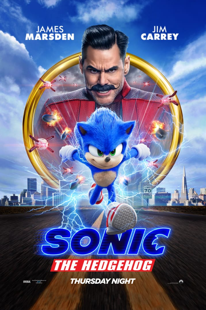 """Sonic the Hedgehog"" poster"