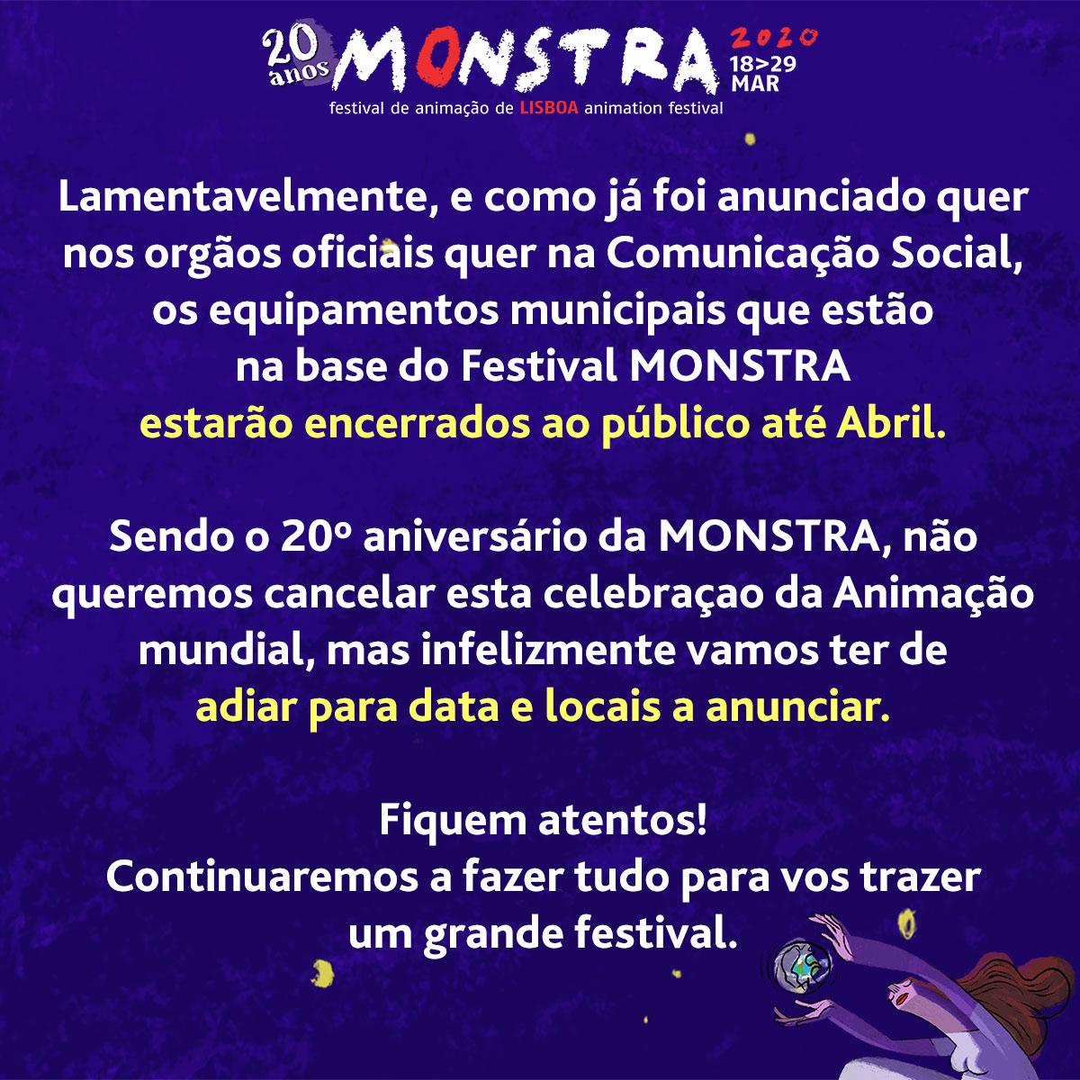 Monstra festival announcement