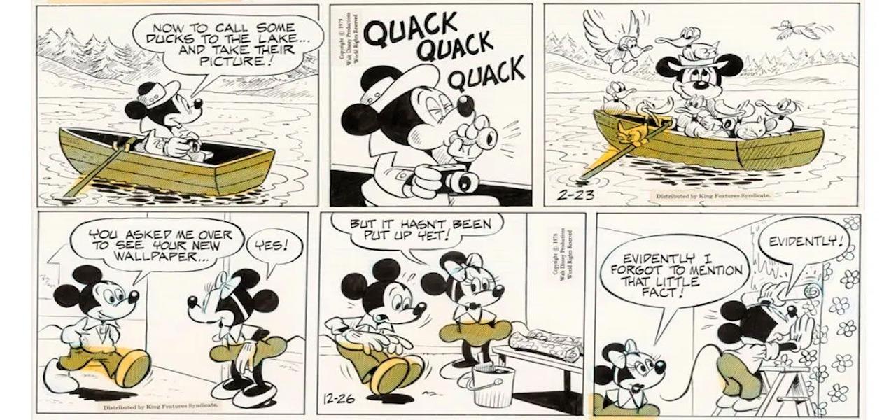 """Roman Arambula, """"Mickey Mouse"""""""