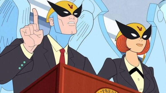 """Harvey Birdman, Attorney at Law"""
