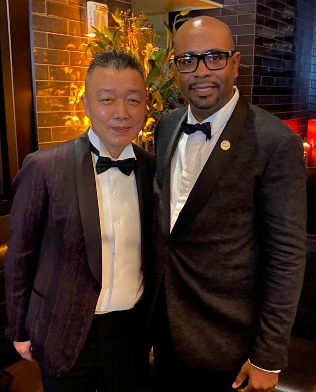 Peter Luo and David Steward II