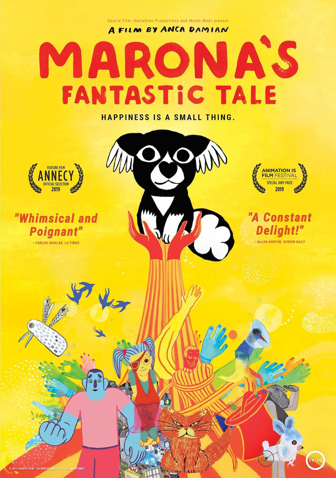 """Marona's Fantastic Tale"" poster"