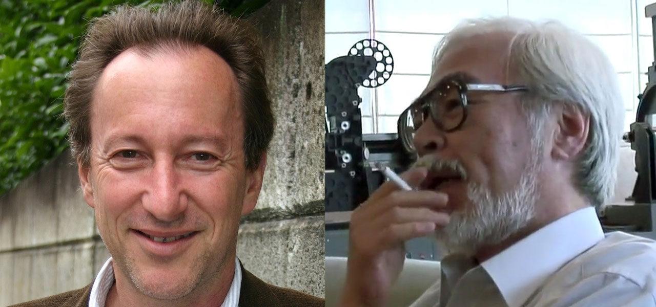 Steve Alpert and Hayao Miyazaki