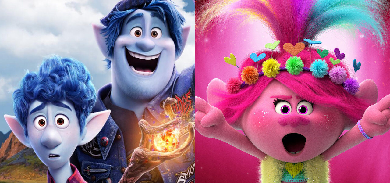 Onward And Trolls World Tour Top The Uk S Reopened Box Office