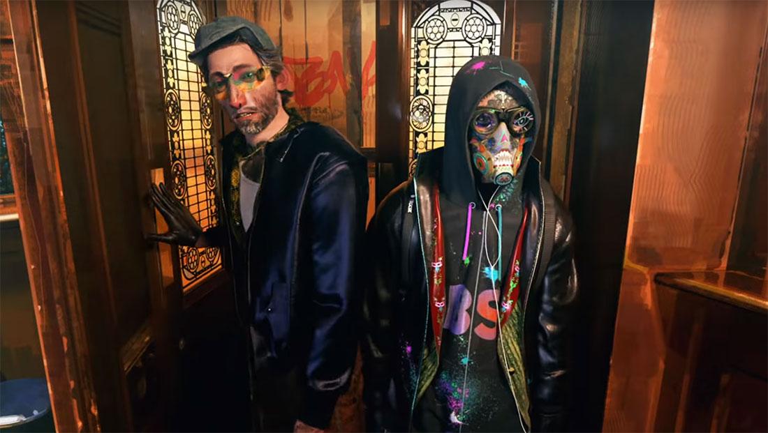 Watch Dogs Legion Cinematic Trailer Is Spider Verse On Steroids