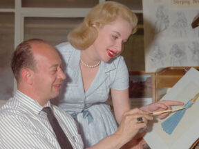 Mary Costa and Marc Davis