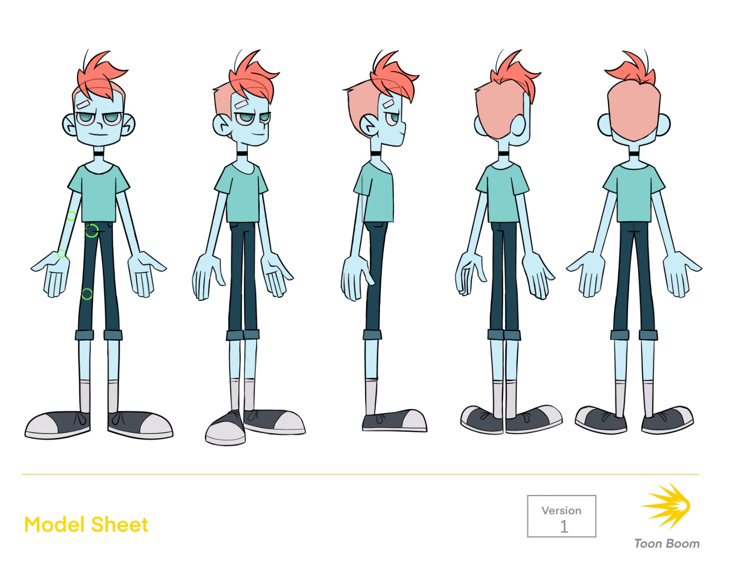 Matt Watts model sheet