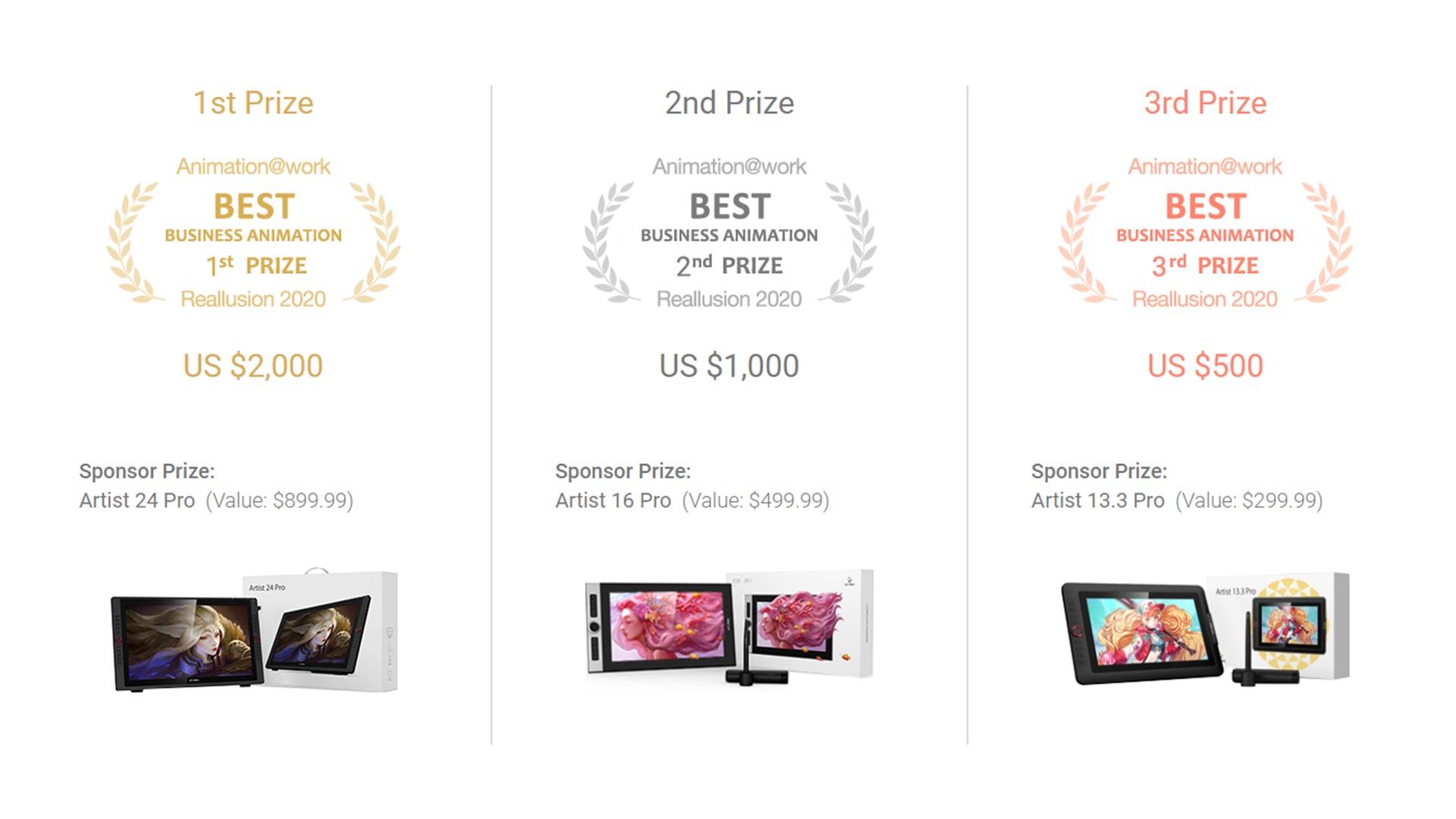 Reallusion prizes