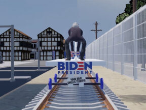 Joe Biden train