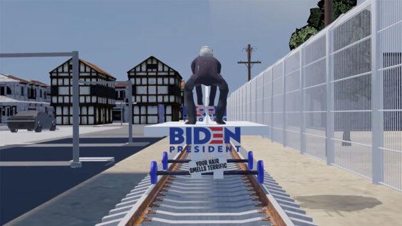 Joe Biden train