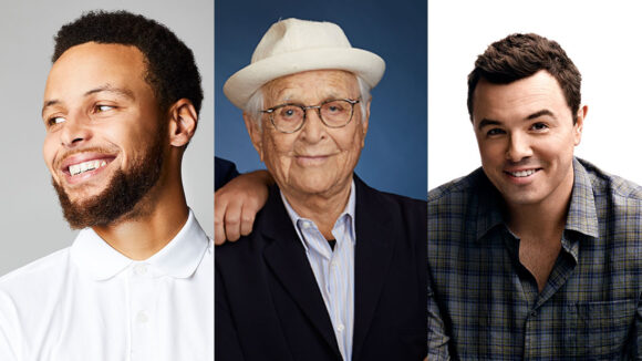Stephen Curry, Norman Lear, Seth MacFarlane