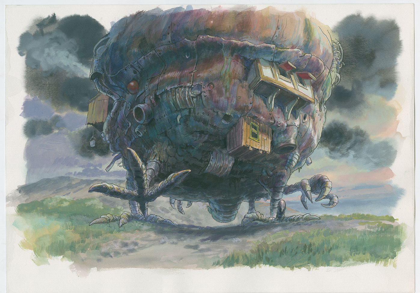 """Production imageboard, """"Howl's Moving Castle."""""""